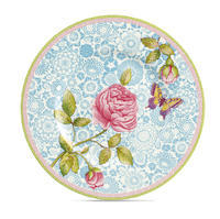 Dezertný tanier 22 cm / modrý Rose Cottage