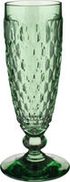 Zelený pohár na šampanské Boston Coloured