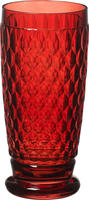 Červený pohár na pivo Boston Coloured