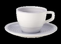 Kávová šálka 0,25 l s podšálkou Artes. Nature Bleu