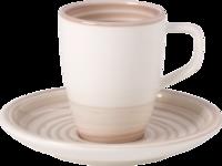 Espresso šálka 0,10 l s podšálkou Ar. Nature Beige