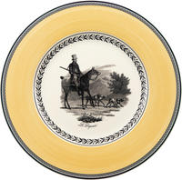 Plytký tanier 27 cm Audun Chasse