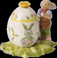 Dóza vajíčko, maľujúci zajačik Bunny Family