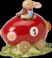 Zajačik v autíčku Bunny Family