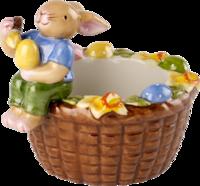 Svietnik košík so zajačikom Bunny Family