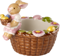 Svietnik košík so zajačicou Bunny Family