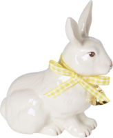 Sediaci zajačik so stužkou Easter Bunnies