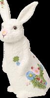 Sediaci zajac, veľký 27 cm Spring Fantasy