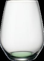 Pohár na vodu 0,42 l, 4 ks CL Green Apple