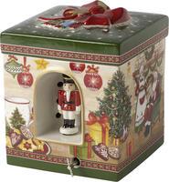 Hracia skrinka, hranatá, Santov dom Christmas Toys