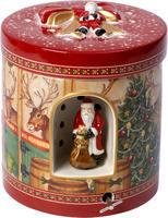 Hracia skrinka, okrúhla, stajne Christmas Toys