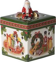 Svietnik, hranatý darček Christmas Toys