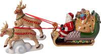 Svietnik, Santa na saniach 36 cm Christmas Toys