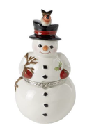 Dóza, snehuliak, 13,5 cm Christmas Toys