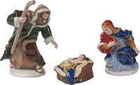Figúrka Jozefa, Márie a Ježiška Nativity