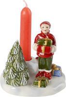 Škriatok s darčekmi 8 cm North Pole Express