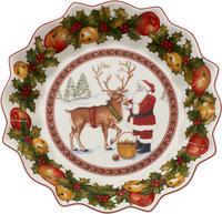 Veľká miska, Santa so sobom, 25 cm Toy's Fantasy