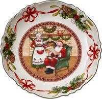 Veľká miska, Santov dom, 25 cm Toy's Fantasy