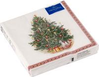 Servítky, vianočný stromček, stredné Winter Spec.