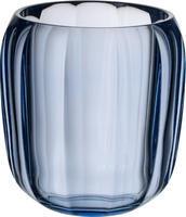 Lampa na čajovú sviečku, modrá Coloured DeLight
