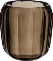 Lampa na čajovú sviečku, tmavá Coloured DeLight