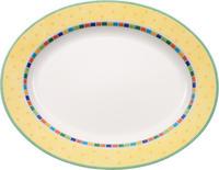 Oválny tanier 41 cm Twist Alea Limone