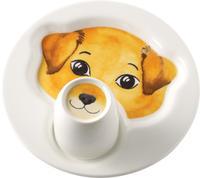 Detský tanier s hrnčekom, Pes Animal Friends