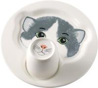 Detský tanier s hrnčekom, Mačka Animal Friends