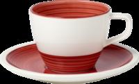 Kávová šálka 0,25 l s podšálkou Manufacture rouge