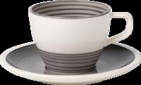 Kávová šálka 0,25 l s podšálkou Manufacture gris