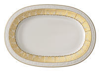 Oválny tanier 41 cm Golden Oasis