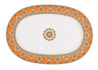Oválny tanier 41 cm Samarkand Mandarin
