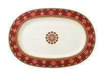 Oválny tanier 41 cm Samarkand Rubin