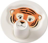 Detský tanier s hrnčekom, Tiger Animal Friends
