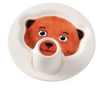 Detský tanier s hrnčekom, Medveď Animal Friends