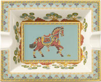 Popolník 17 x 21 cm Samarkand Aquamarin