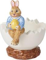 Svietnik, vajíčko, zajačik Max 8,3 cm Bunny Tales