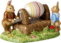 Dekorácia, maľovanie vajíčka 16,5 cm Bunny Tales