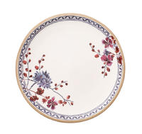 Plytký tanier s kvetinou 27 cm Art. Prov. Lavender
