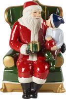 Hracia skrinka, Santa v kresle Christmas Toys