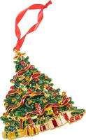 Závesný kovový stromček 12 cm Christmas Toys