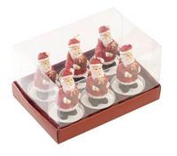 Sviečky, Mikulášikovia, 6 ks Christmas Toys