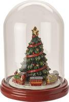 Stromček v sklenenom kryte 19,5 cm Christmas Toys