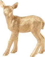 Dekorácia, zlaté jelenča 12 cm Christmas Toys