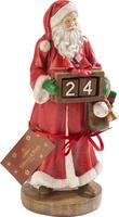 Adventný kalendár, Mikuláš 23 cm Christmas Toys