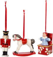 Závesné ozdoby, hračky, 3 ks Nostalgic Ornaments