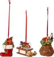 Závesné ozdoby, darčeky, 3 ks Nostalgic Ornaments