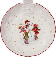 Veľká miska, refliéf snehuliak, 25 cm Toy's Fant.