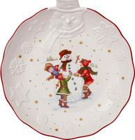 Veľká miska, reliéf snehuliak, 25 cm Toy's Fant.