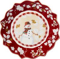 Veľká miska, snehuliak, 25 cm Toy's Fantasy